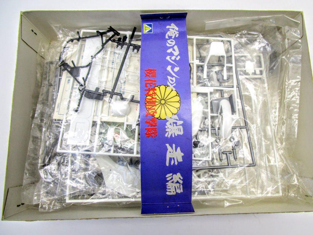 アオシマ 1/12 俺のマシンDX 爆走編 櫻花特別攻撃隊 XJ400のキット内容