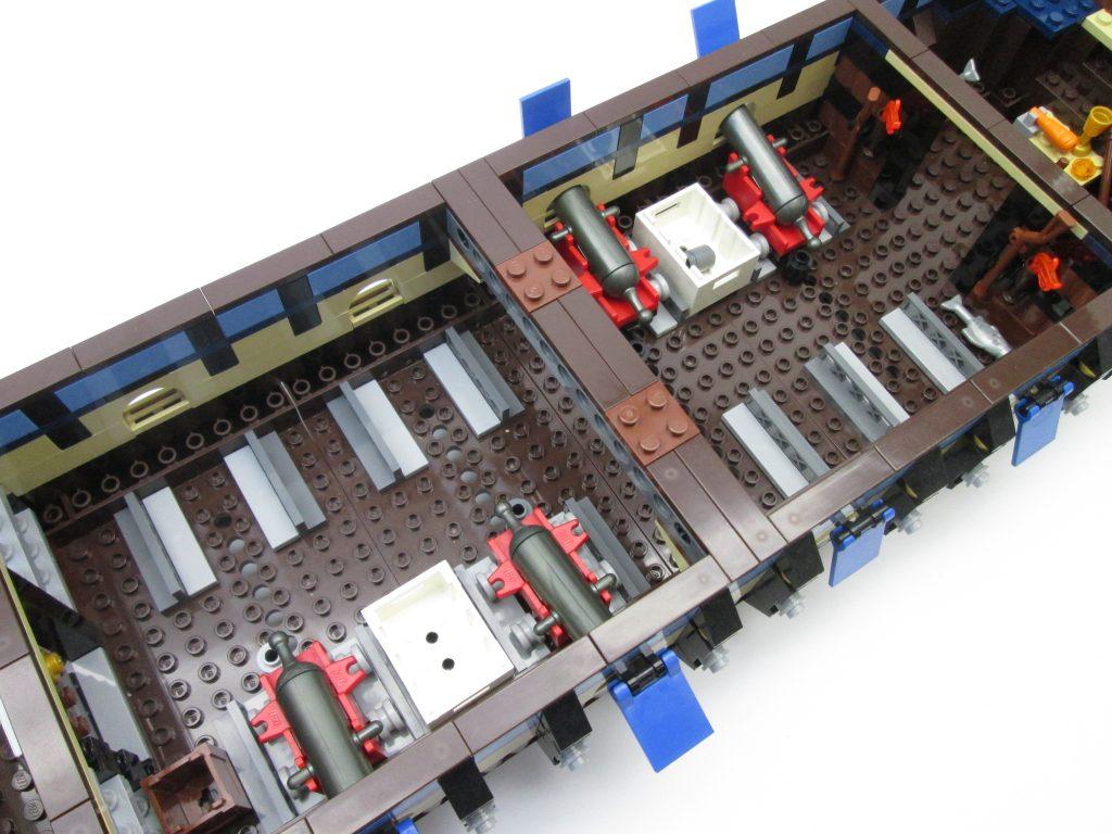レゴパイレーツ 10210 インペリアル フラッグシップの船内