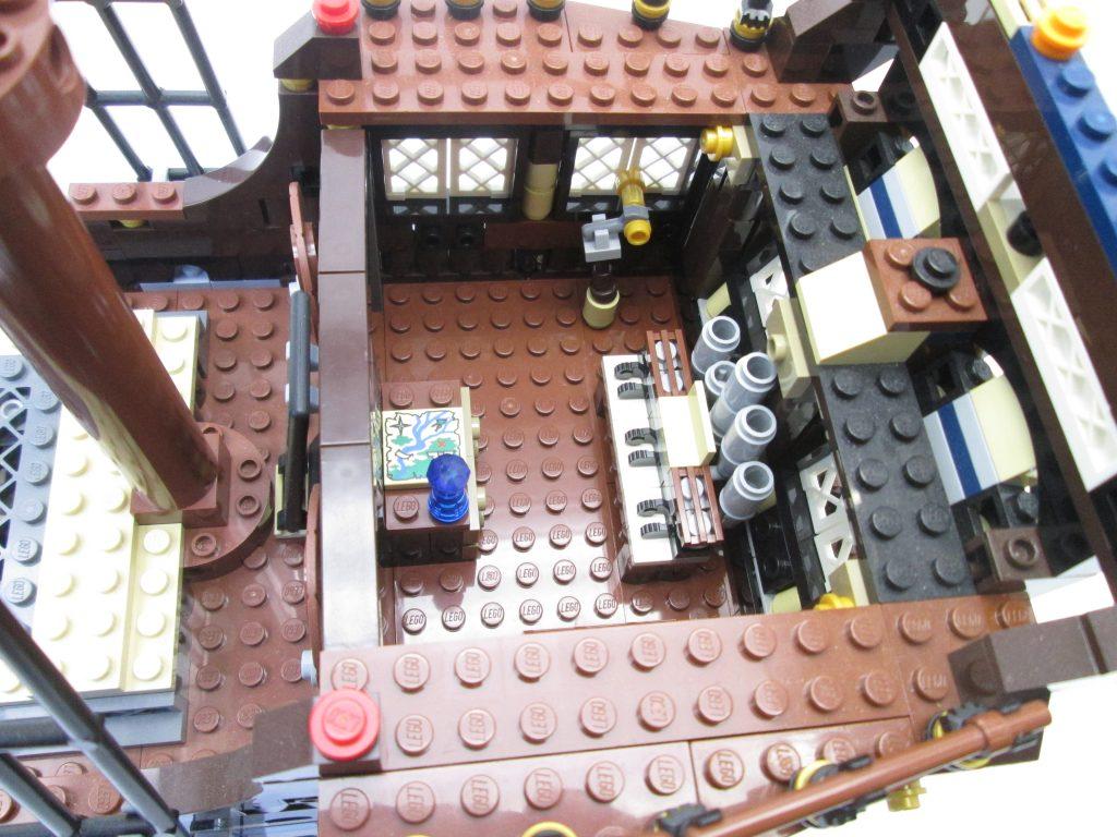 レゴパイレーツ 10210 インペリアル フラッグシップの船長室