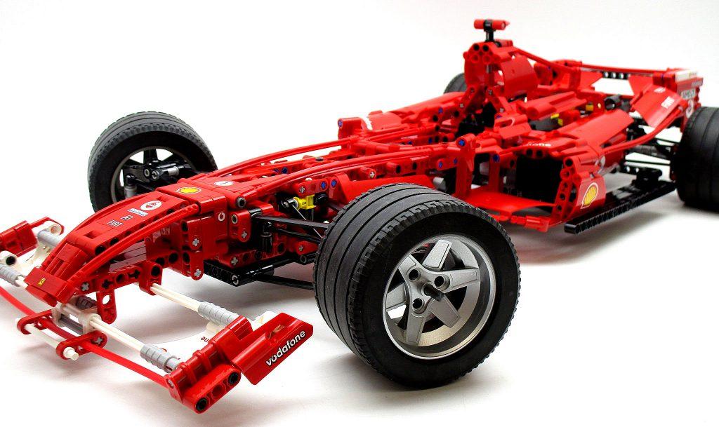 LEGO レーサー 8674 1/8 フェラーリF1の正面