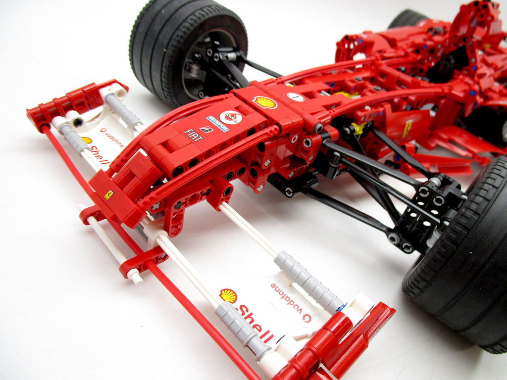 LEGO レーサー 8674 1/8 フェラーリF1 正面
