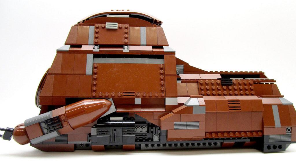 LEGO スター・ウォーズ 7662 通商連合MTT 大型兵員輸送車 サイドビュー