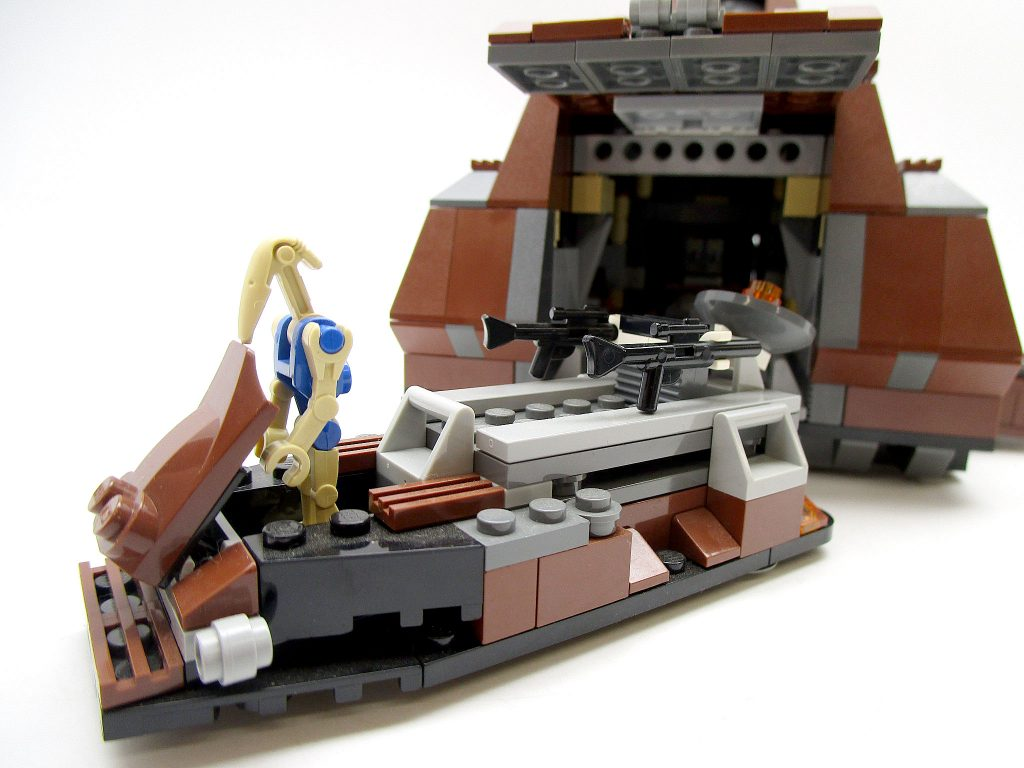 LEGO スター・ウォーズ 7662 通商連合MTT 大型兵員輸送車 ビークル と青いB1バトル・ドロイド