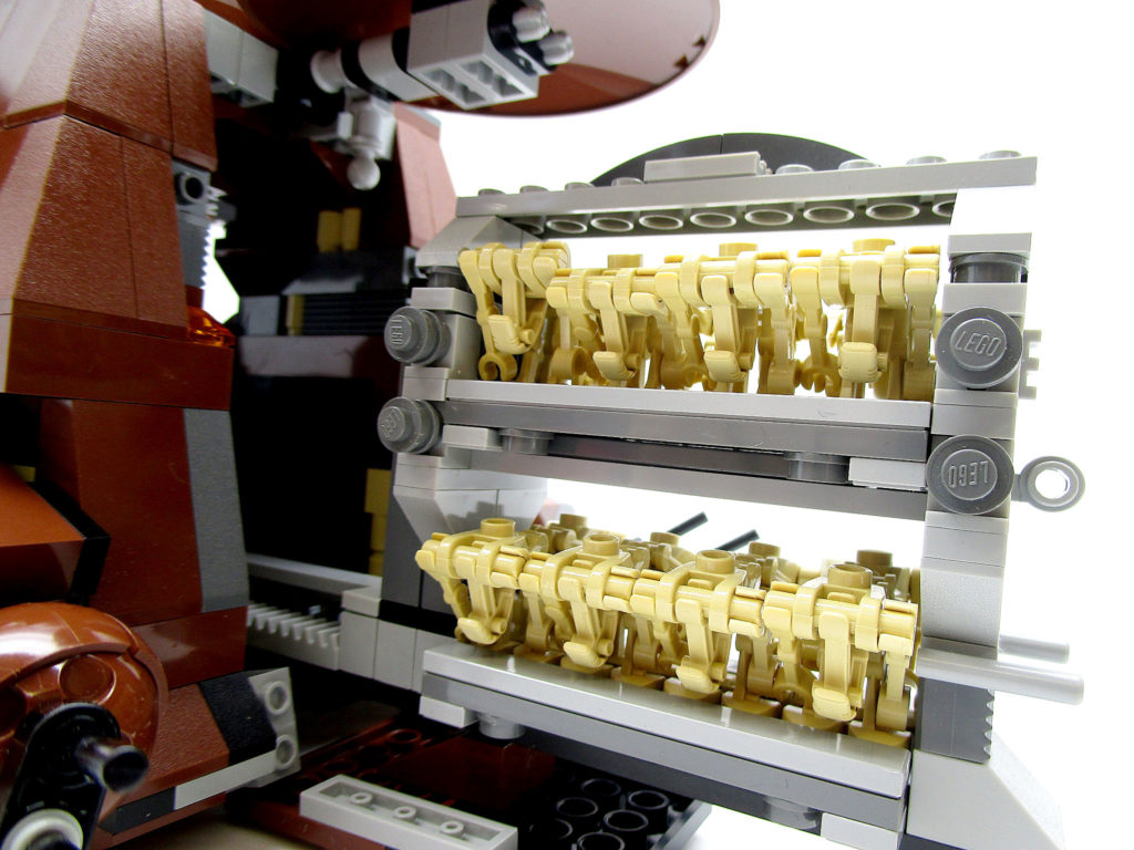 LEGO スター・ウォーズ 7662 通商連合MTT 大型兵員輸送車 格納されたバトル・ドロイド