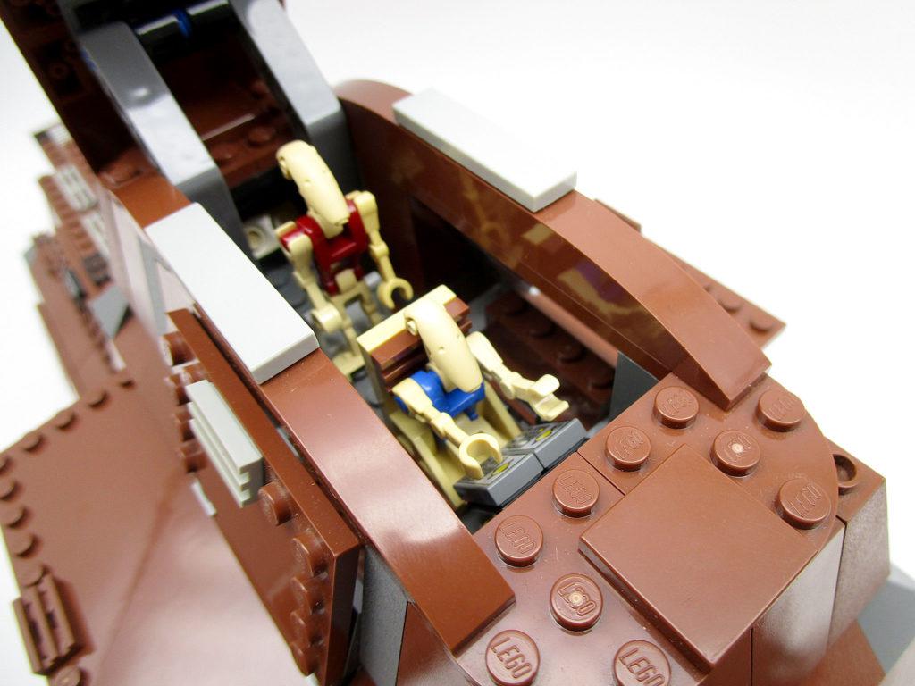 LEGO スター・ウォーズ 7662 通商連合MTT 大型兵員輸送車 操縦席