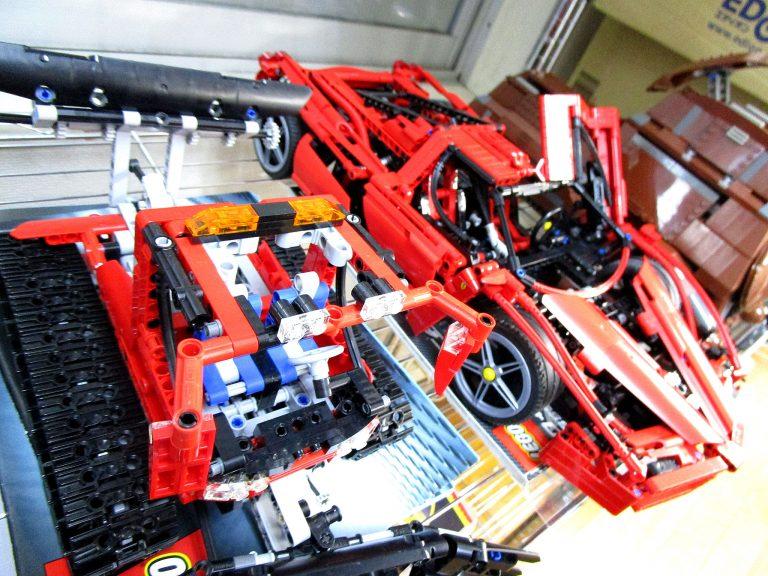 LEGOレーサーやレゴスター・ウォーズの組立済みレゴブロックを東京都より買取頂きました!
