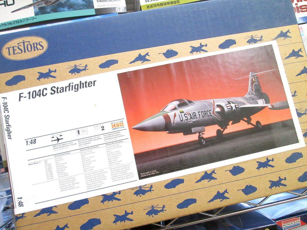 TESTORS 1/48 F-104C スターファイター