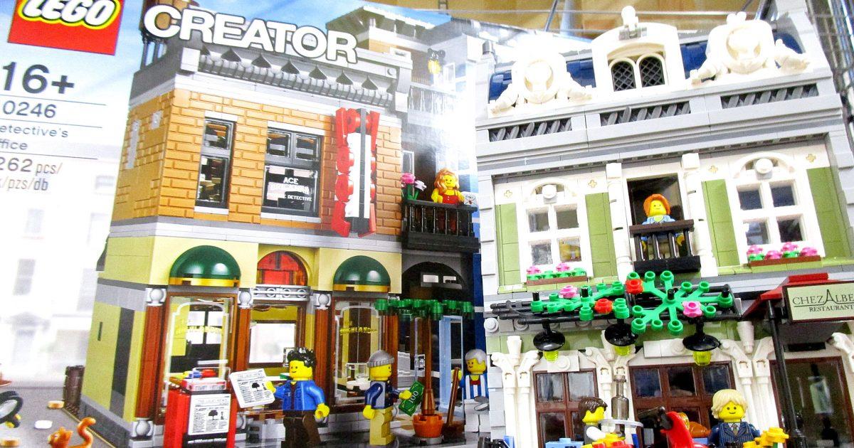 大阪府より、LEGO 10243 パリのレストランなどのレゴブロックを買取させて頂きました!