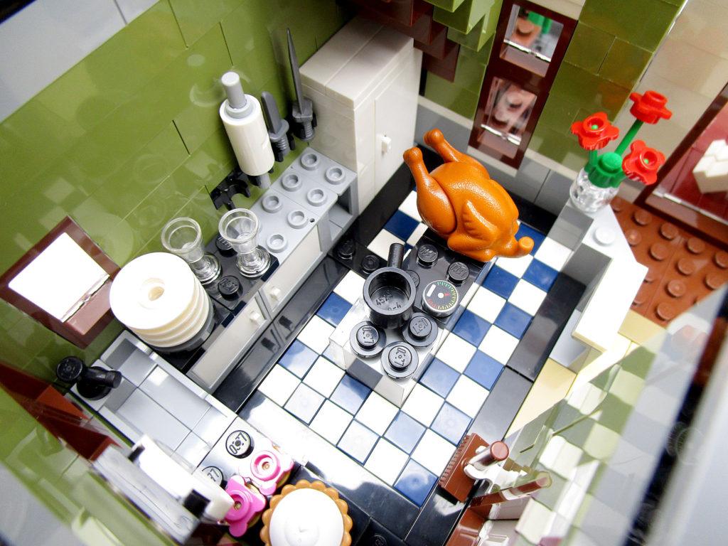 LEGO クリエイター 10243 パリのレストラン レストランの厨房
