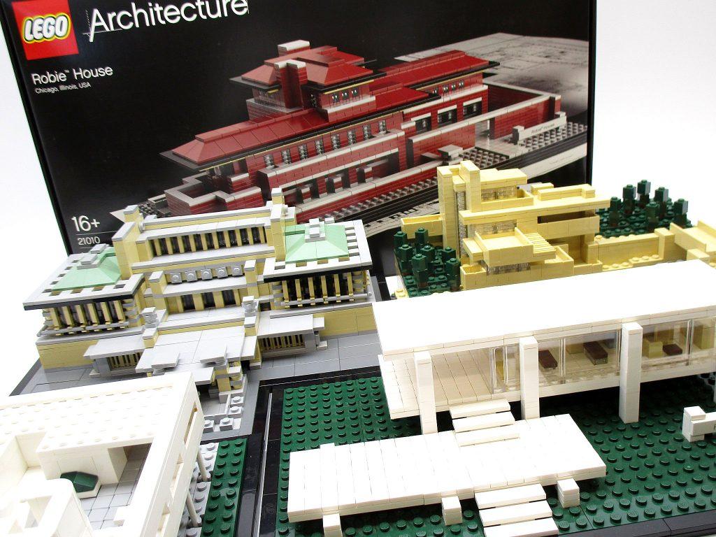 カウフマン邸など、未開封や完成品のLEGO アーキテクチャーを買取させて頂きました!