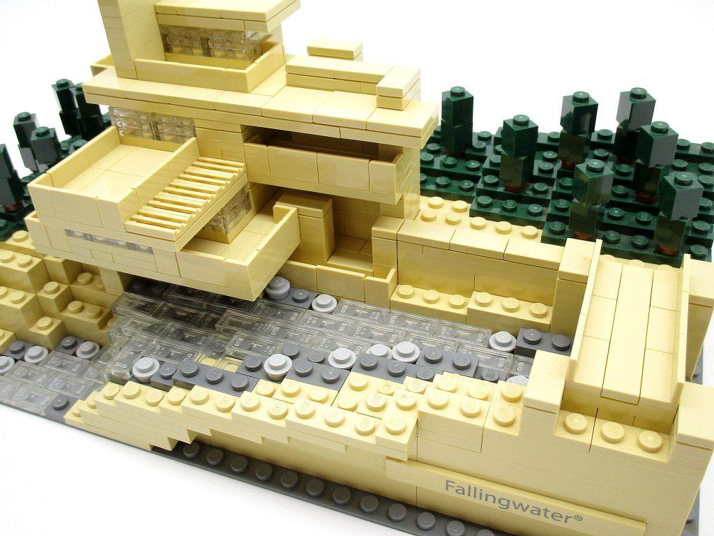 LEGO アーキテクチャー 21005 落水荘 カウフマン邸