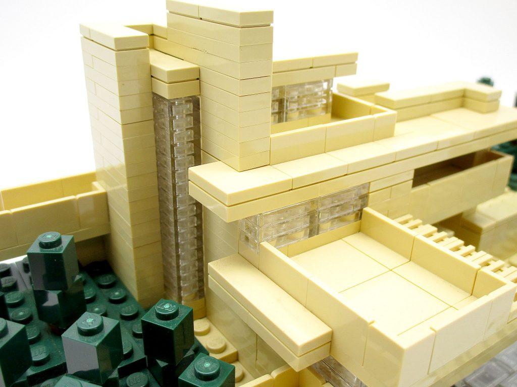 LEGO アーキテクチャー 21005 落水荘 カウフマン邸 上部