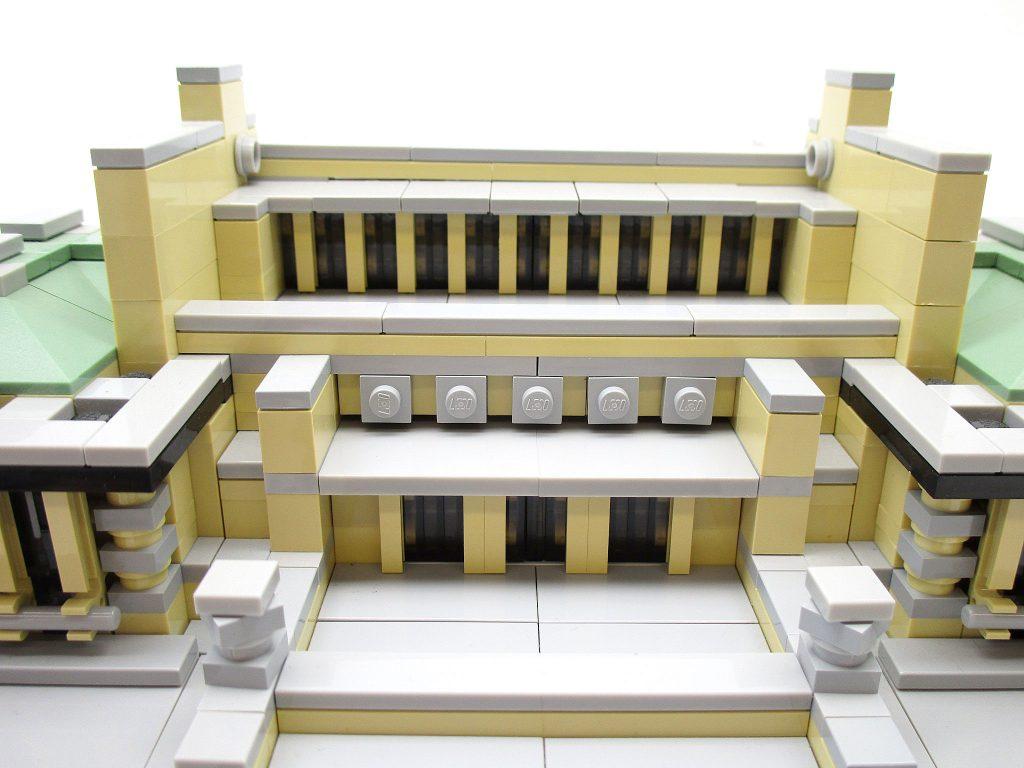 LEGO アーキテクチャー 21017 帝国ホテル 上部