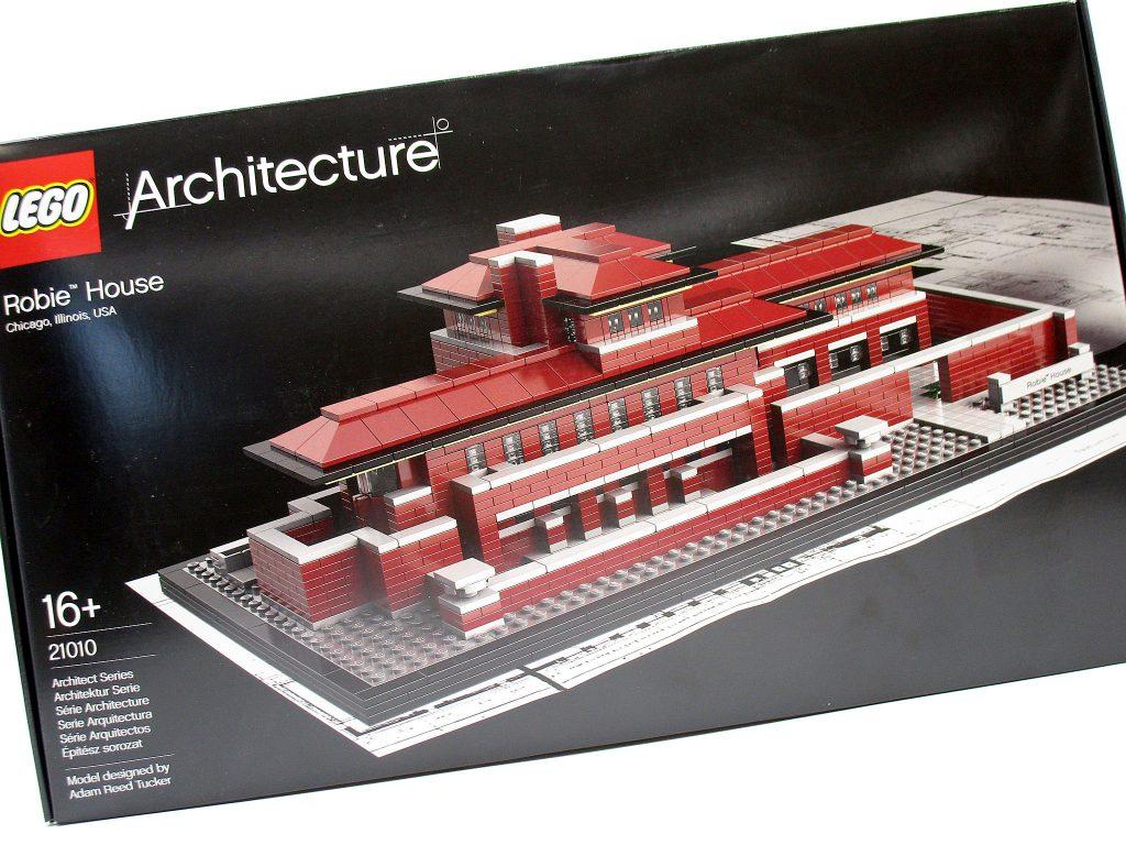 LEGO 21010 アーキテクチャー ロビー邸
