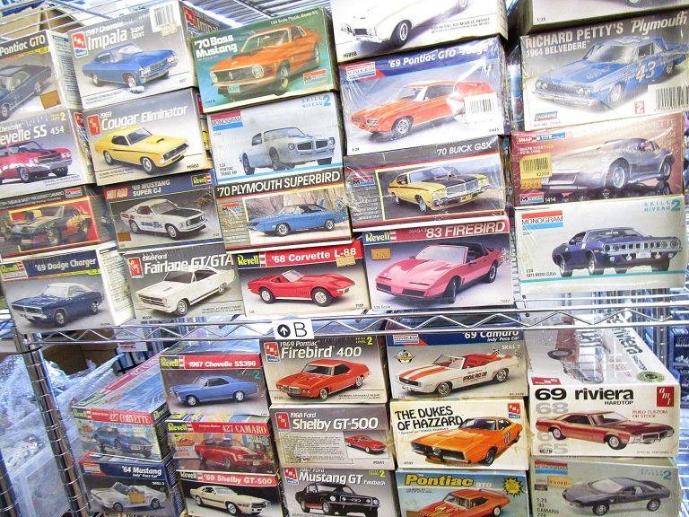 富山県より、アメ車やオールドカーのプラモデルを沢山買取させて頂きました!