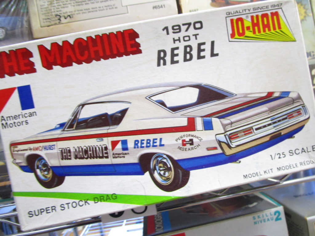 JO-HAN 1/25 1970 HOT REBEL