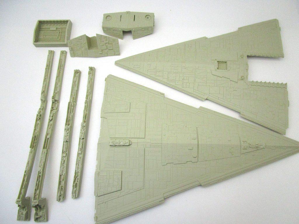 SCI-FIダイナミクス 1/2256 スターデストロイヤー 艦体