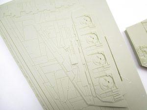 SCI-FIダイナミクス 1/2256 スターデストロイヤー パーツアップ