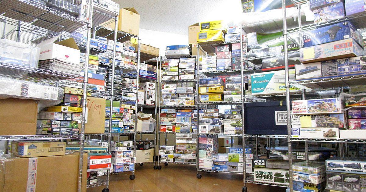 大阪府へ、1000点を超えるプラモデルや模型の出張買取にお伺いしました!