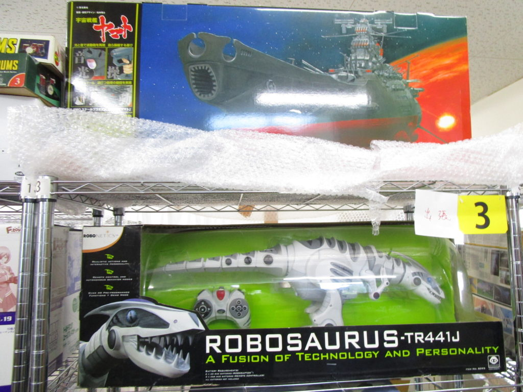 ロボザウルスなど