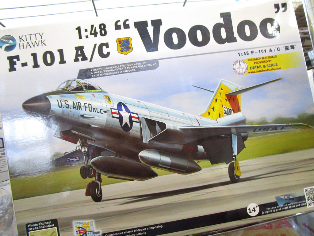 キティホーク 1/48 D-101A/C Voodoo