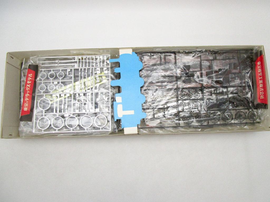 東宝 1/50 C10型 蒸気機関車 キット内容