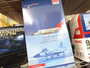 HM 1/72 F-102 デルタダガー