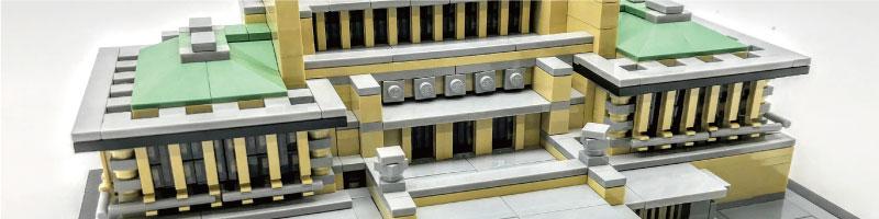 レゴアーキテクチャー完成品