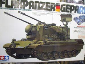タミヤ 1/16 西ドイツ ゲパルト対空戦車 ラジオコントロールタンク
