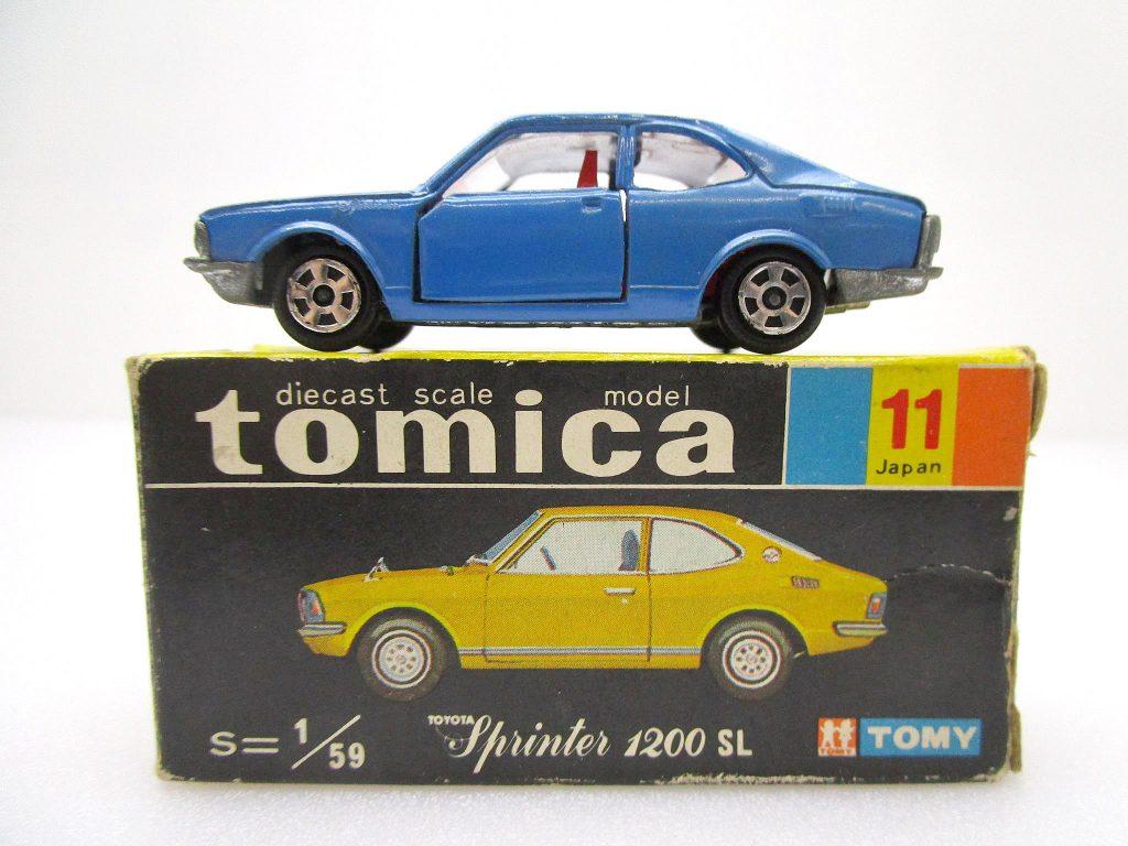 トミカ 11 トヨタ スプリンター 1200SL ホンコン