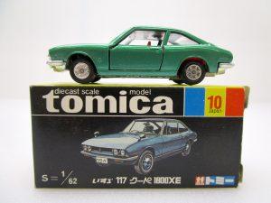トミカ 10 いすゞ 117クーペ