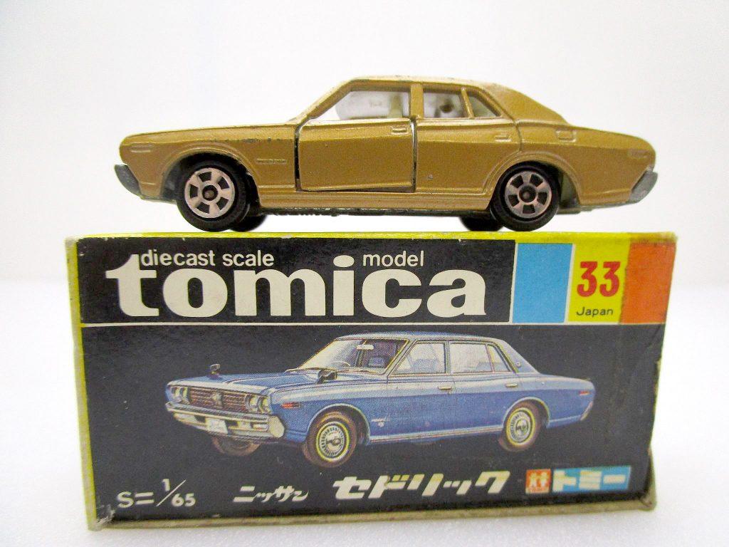 トミカ 33 ニッサン セドリック ホンコン