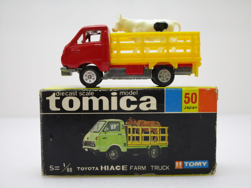 トミカ 50 トヨタ ハイエース 牧場トラック