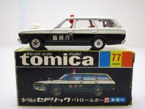 トミカ 77 セドリック パトロールカー
