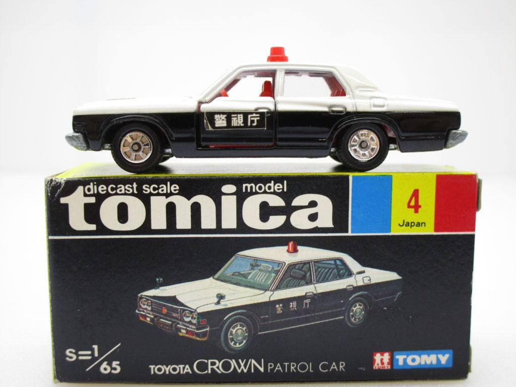 トミカ 4 トヨタ クラウン パトロールカー