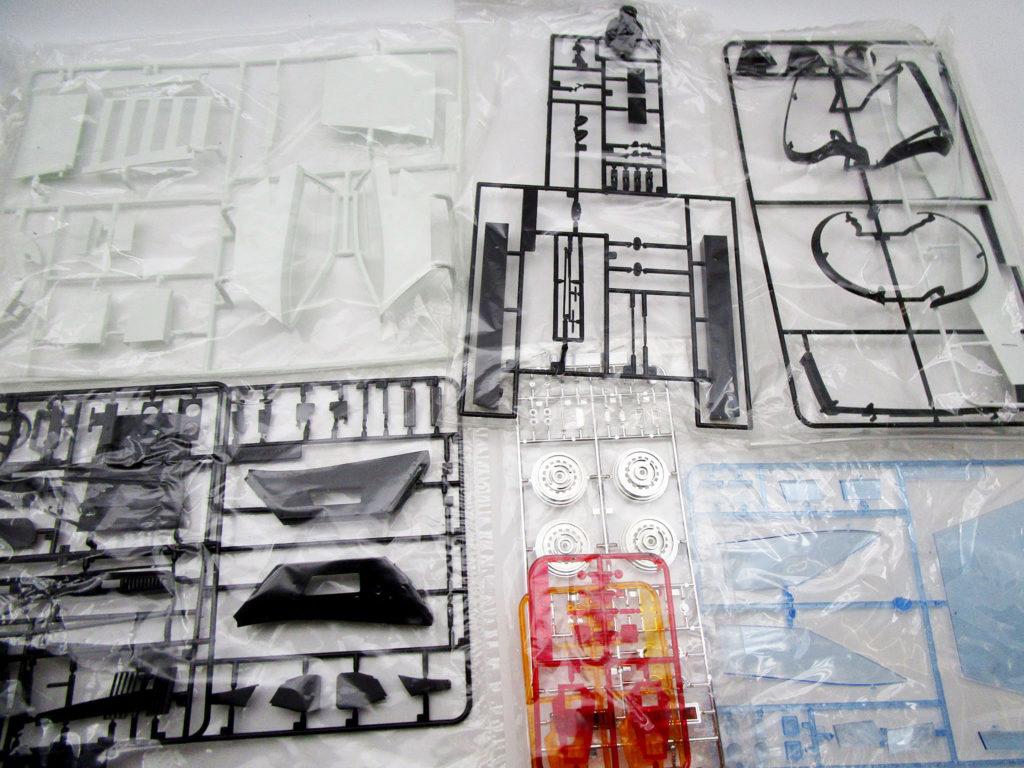オオタキ 1/12 ランボルギーニ カウンタック LP500 プラスチックパーツ