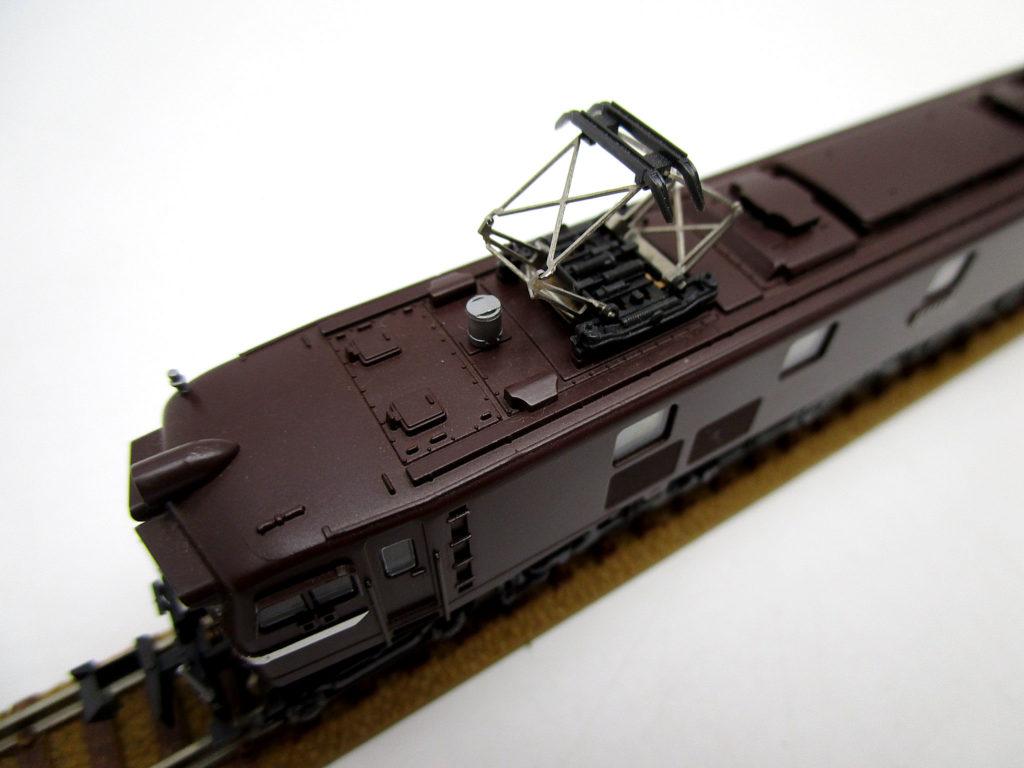 KATO 3006-5 EF58 ヒサシ付 茶 屋根