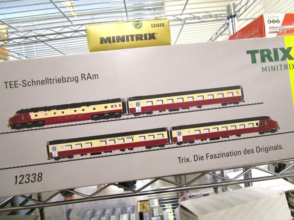 Trix N 12338 ディーゼル列車4両セット RAm TEE SBB EpⅢ DCCSound