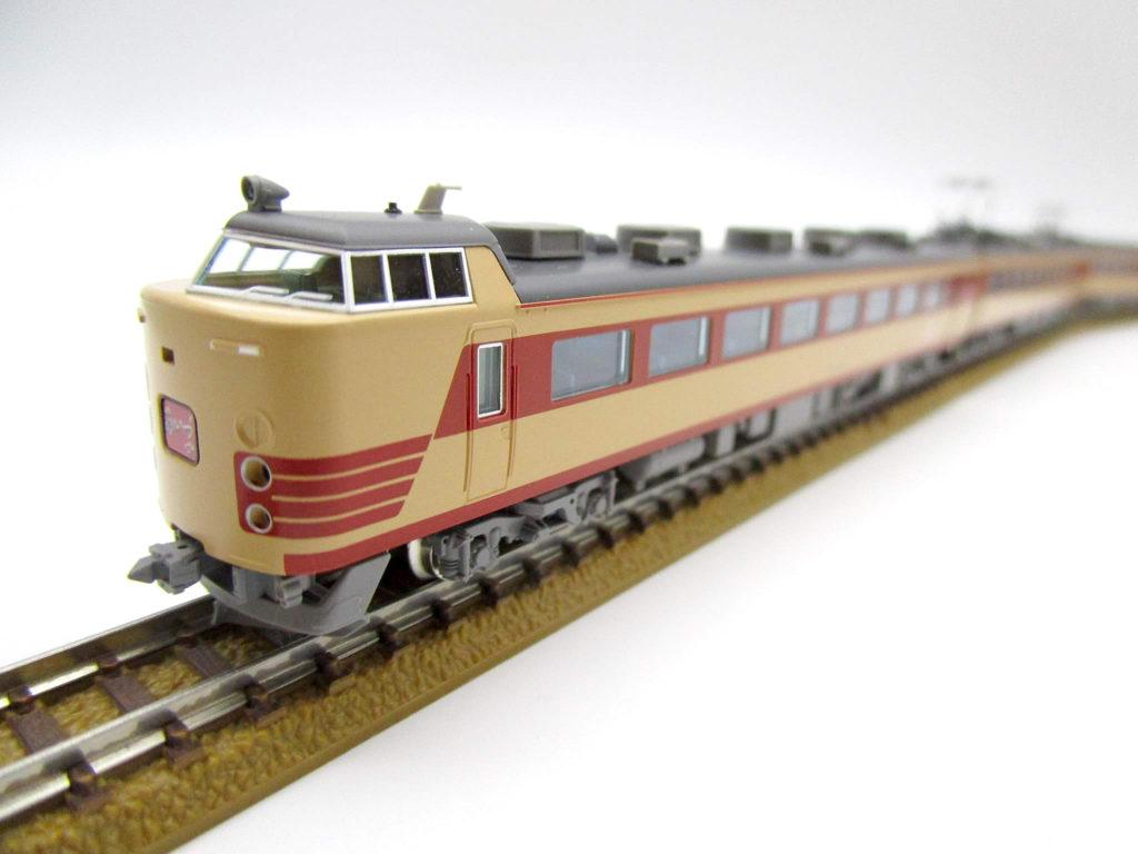 TOMIX 98961JR 485系特急電車 仙台車両センター・A1・A2編成