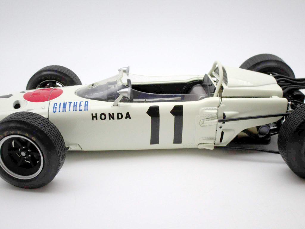 タミヤ 1/12 ホンダ F1 RA2721965年メキシコGP優勝車 サイド