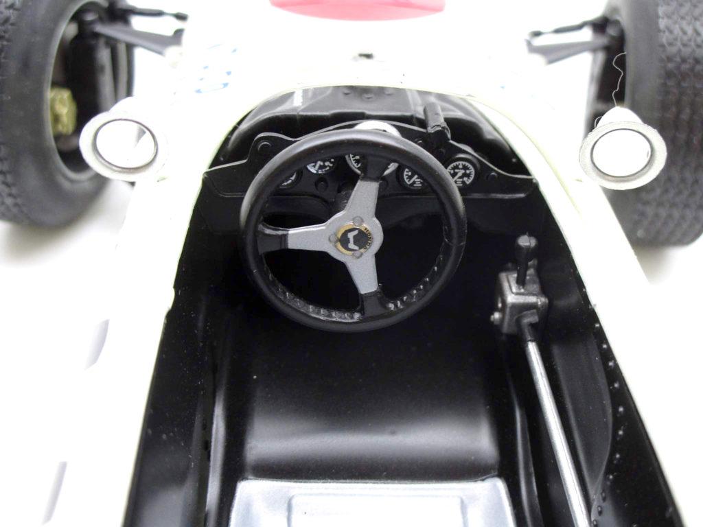 タミヤ 1/12 ホンダ F1 RA2721965年メキシコGP優勝車 コックピット