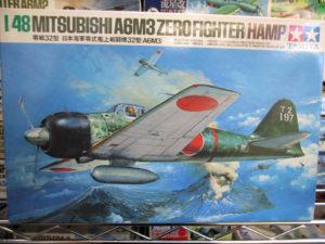 タミヤ 1/48 零戦32型 日本海軍 零式艦上戦闘機32型