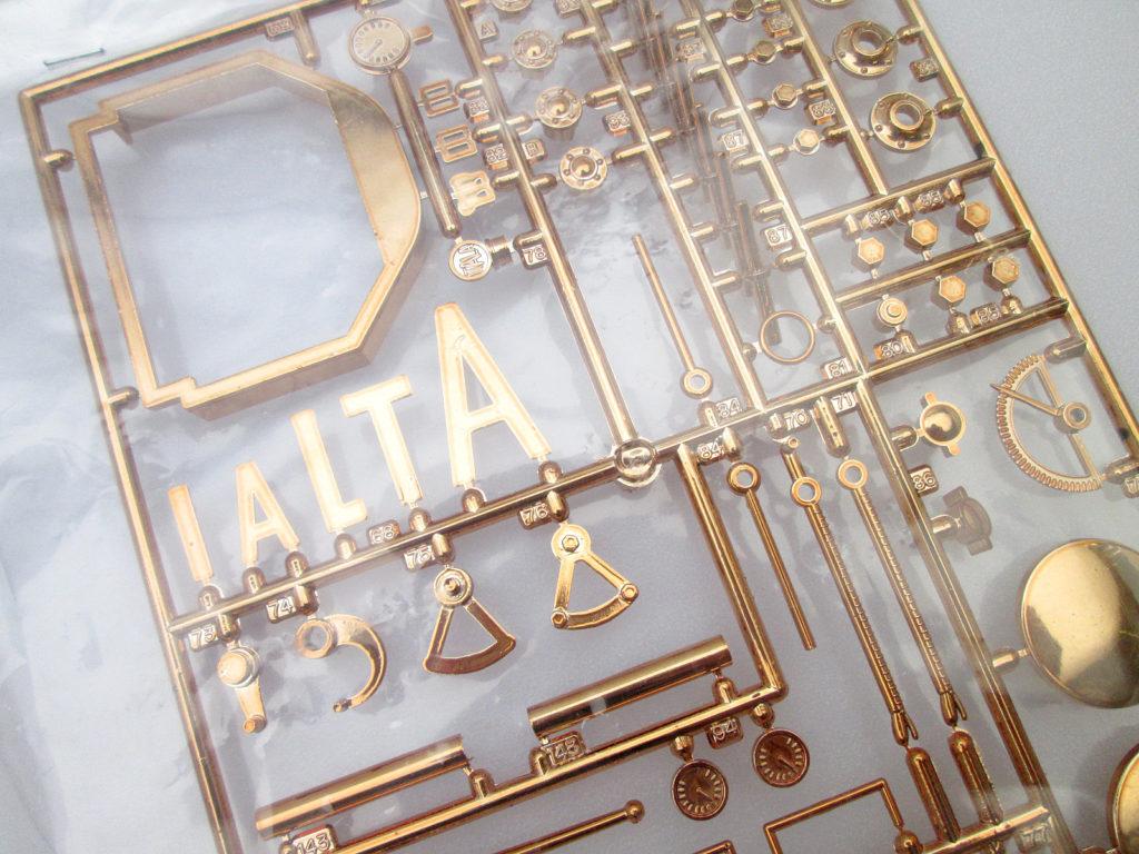 バンダイ 1/16 イターラ model 1905 メタルパーツ