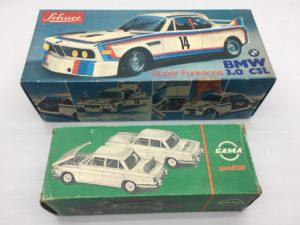 シュコーBMW3.0CSL/ GAMA BMW1800 昔のミニカー
