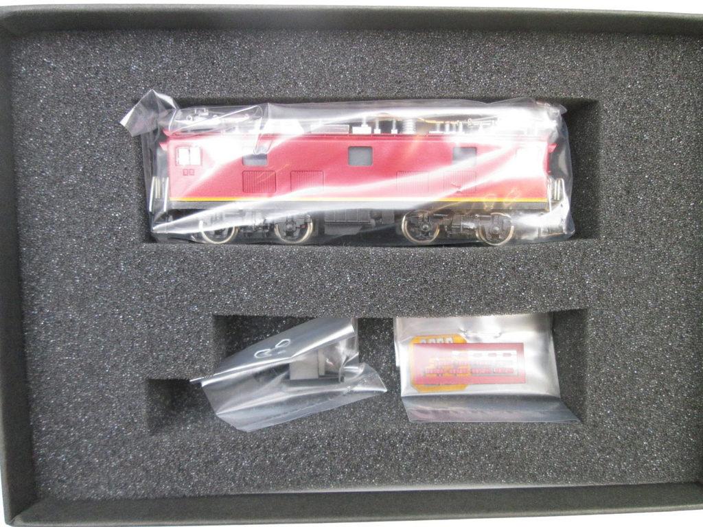 ワールド工芸 Nゲージ 国鉄ED91 21号機 試作交流機 塗装済完成品 パッケージ内容