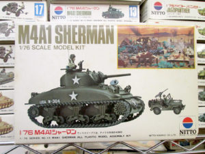 ニットー 1/76 M4Aシャーマン