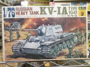 フジミ 1/76 KV-1A