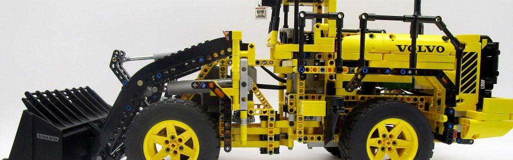 LEGO テクニック 42030 Volvo L350F ホイールローダー