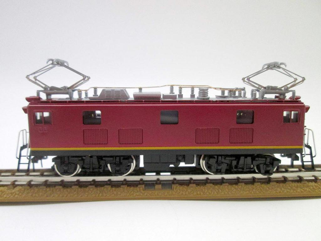 ワールド工芸 Nゲージ 国鉄ED91 21号機 試作交流機 塗装済完成品 外観 横