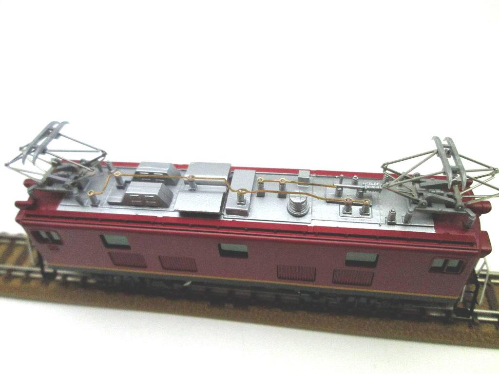 ワールド工芸 Nゲージ 国鉄ED91 21号機 試作交流機 塗装済完成品 外観 屋根